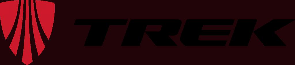 Trek logo horizontal red black 2015