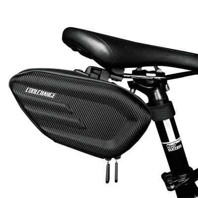Molded Waterproof Reflective Saddle Bag by CoolChange