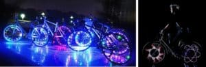 Bicycle Wheel Light Featured Image, Colorful Lights