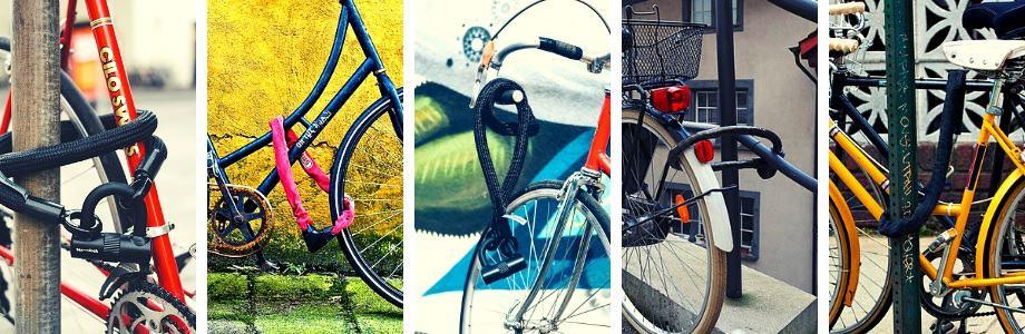 Heavy Duty Bike Chain Locks Bicycle Storage Lock Safety Chain 4 Styles