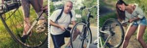 Puming Bicycle Tire using Mini Bicycle Pump