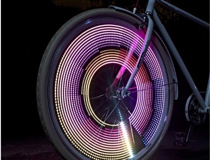 Monkey Light M232 - 200 Lumen - Bike Wheel Light - 32 Full Color LED - Waterproof