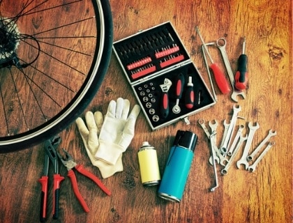 bicycle tool kit, bicycle tools, tools