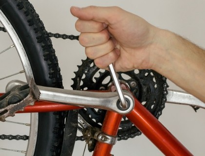Securing the Bicycle Pedal
