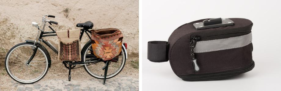 bicycle saddle bag, bike bag, saddle bag