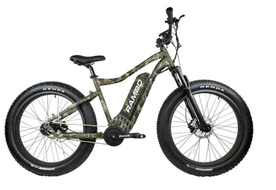 Rambo Roamer 750W XC Fat Tire Electric Bike